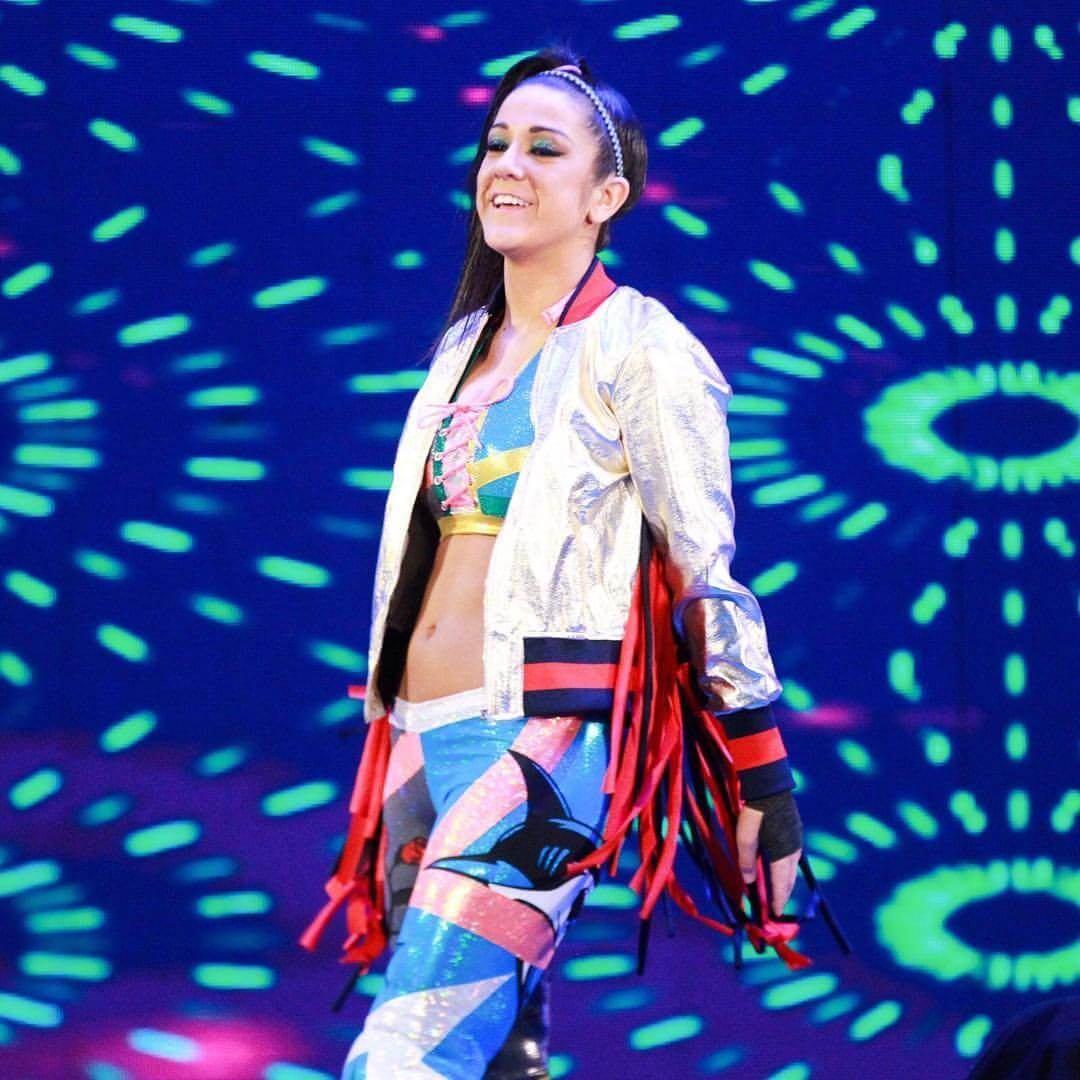 Bayley sexy side pics