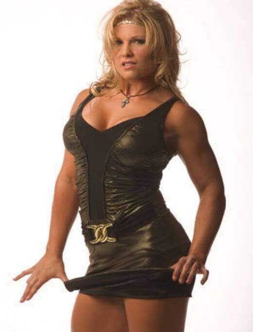 Beth-Phoenix hot black look