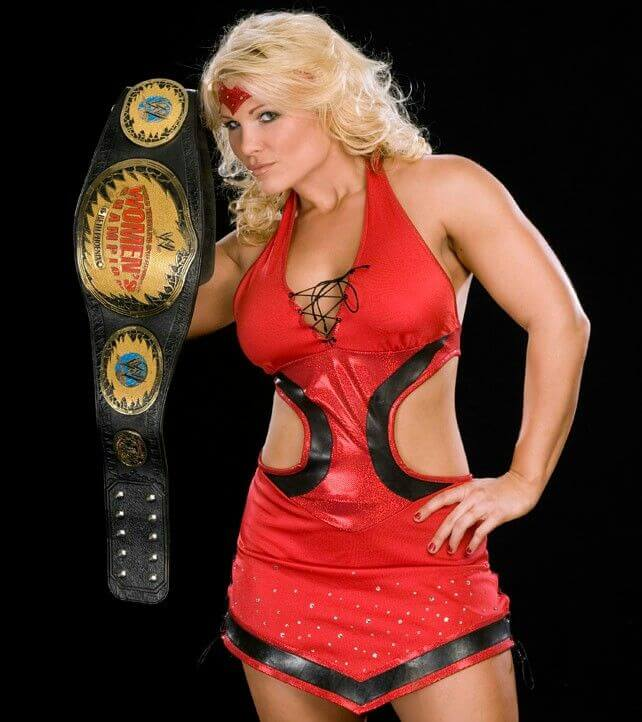 Beth-Phoenix red hot look