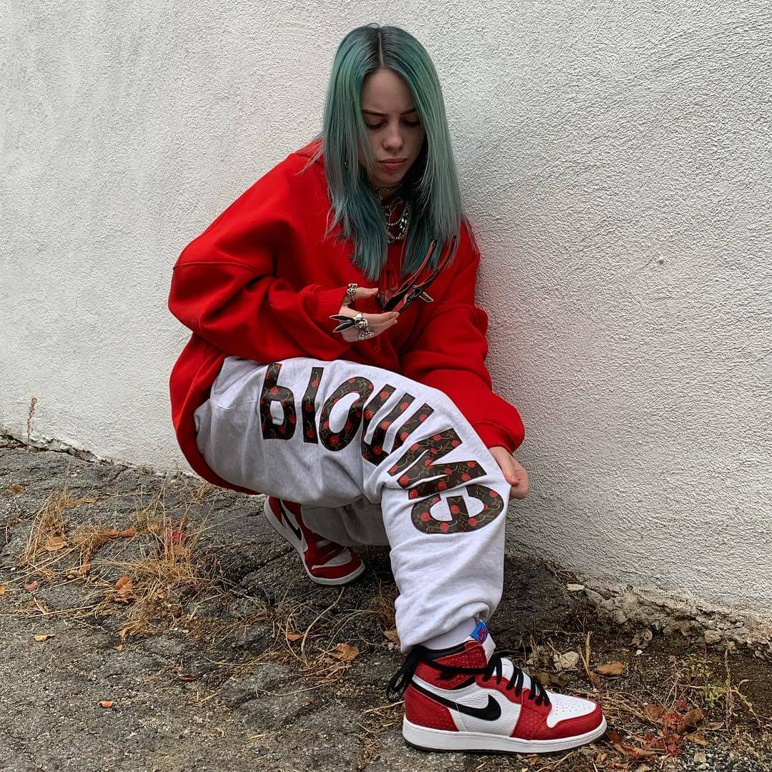 billie eilish ass
