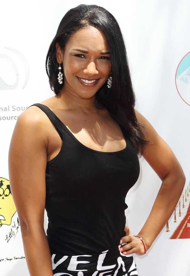 Candice Patton hot side pictures