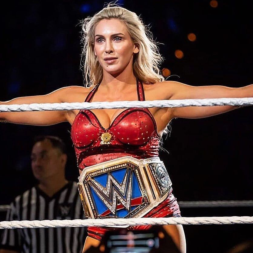 Charlotte Flair awesome cleavages