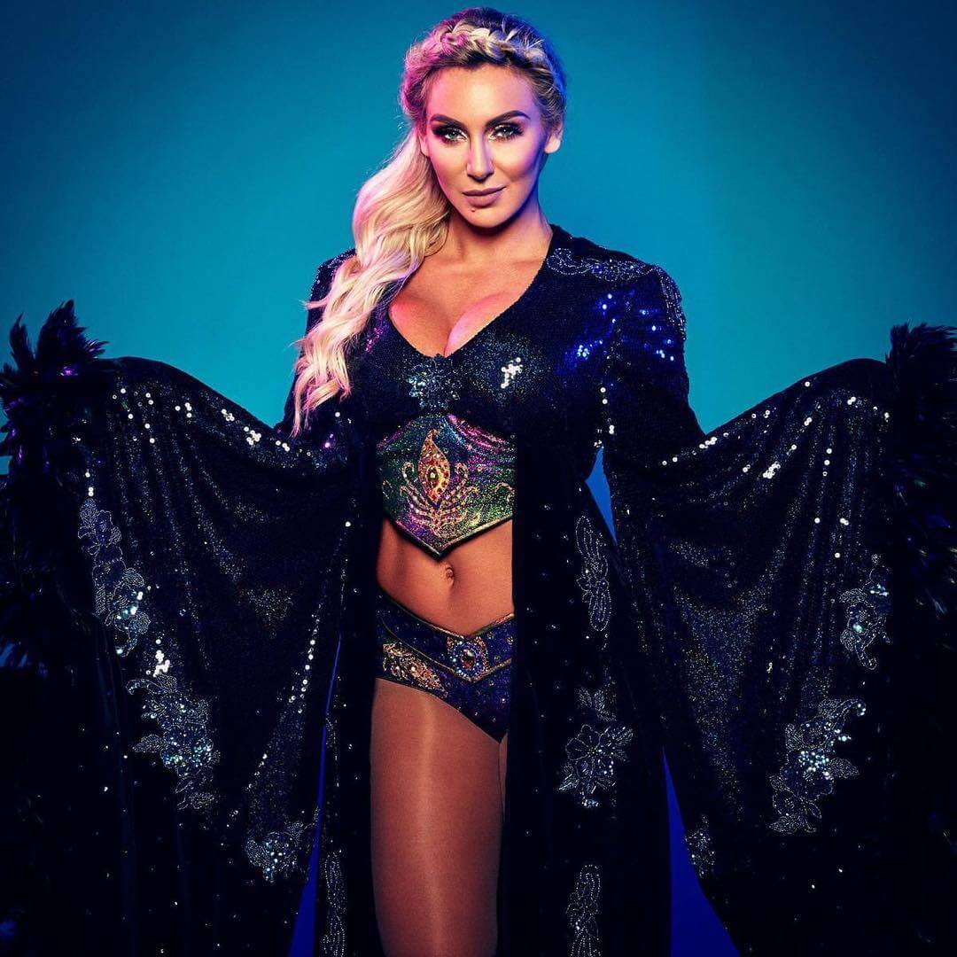 Charlotte Flair cleavages hot