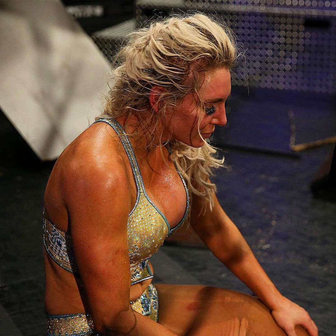 Charlotte Flair cleavages sexy