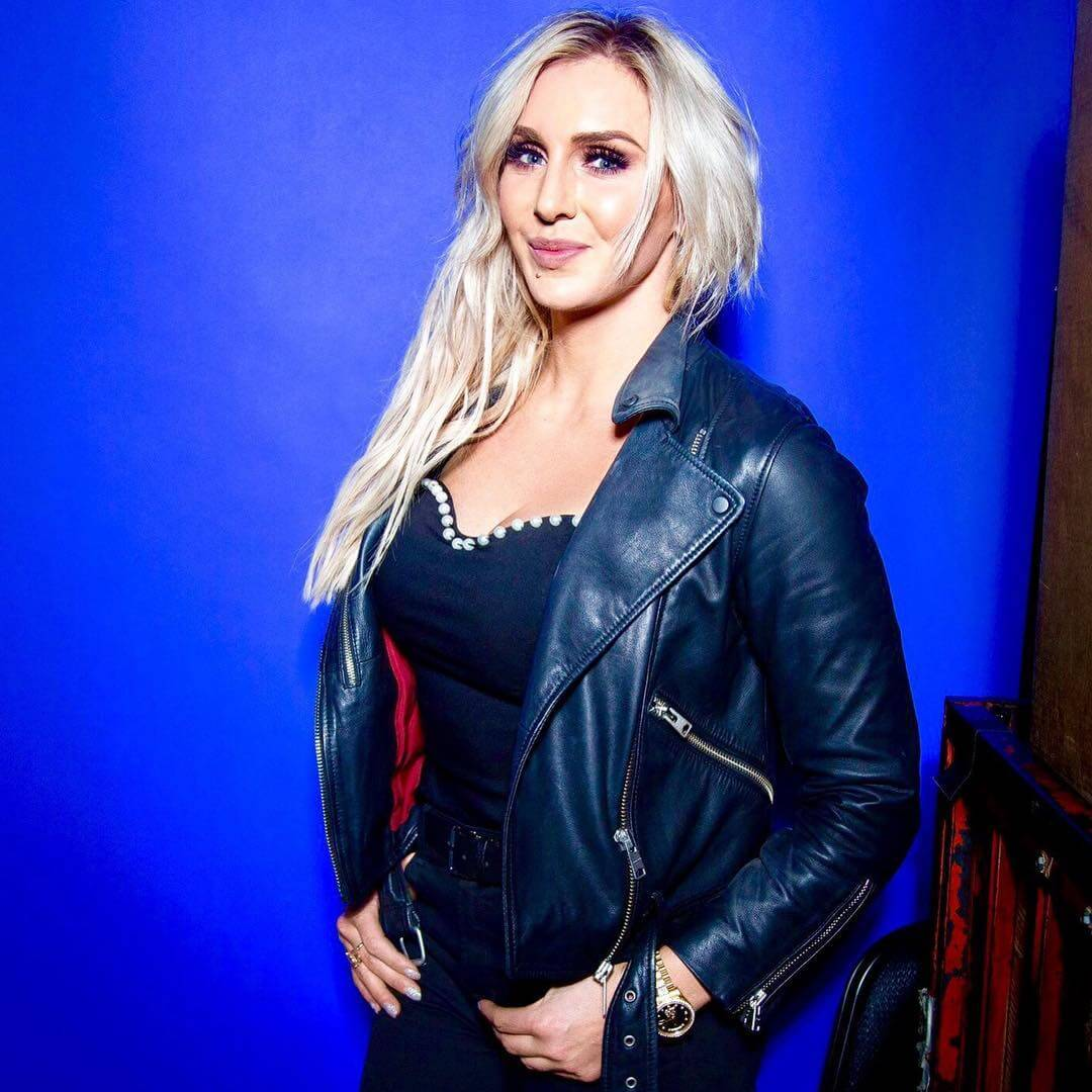 Charlotte Flair cleavages