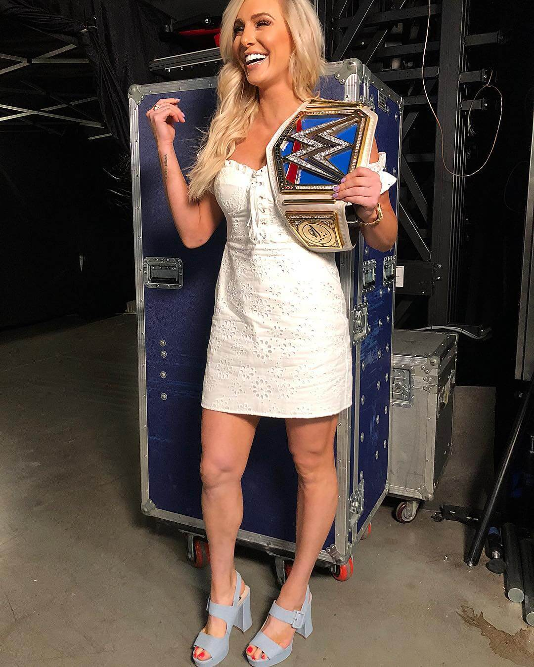 Charlotte Flair sexy thighs