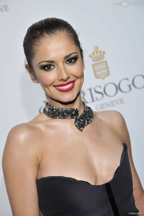 Cheryl Cole Red Lips