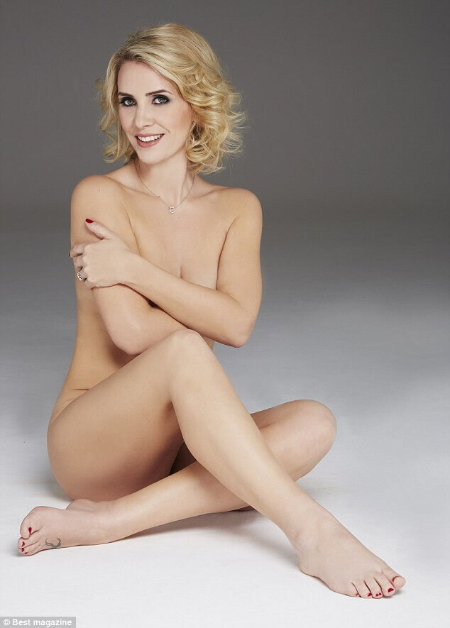 Claire Richards near nude