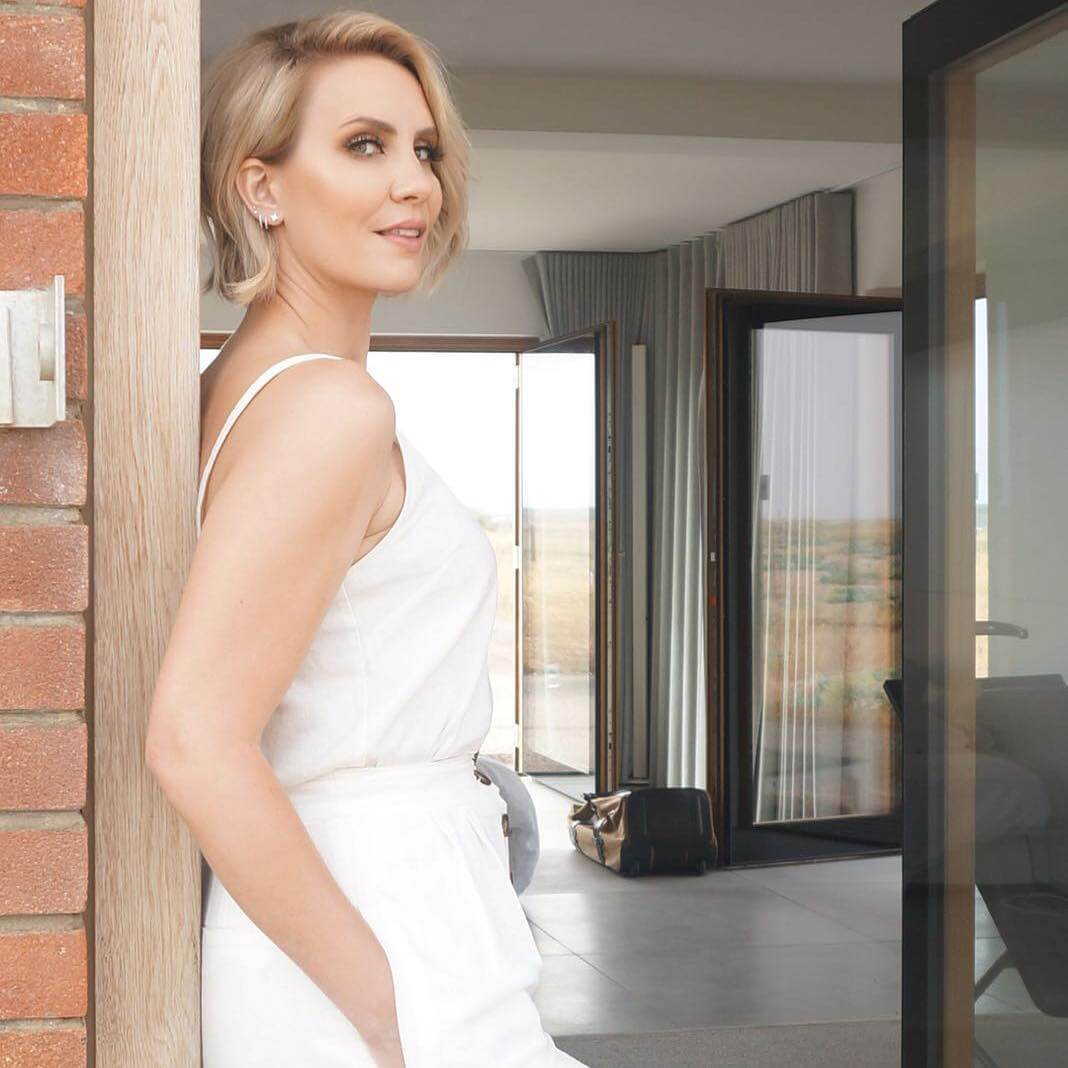 Claire Richards sexxxy white dress
