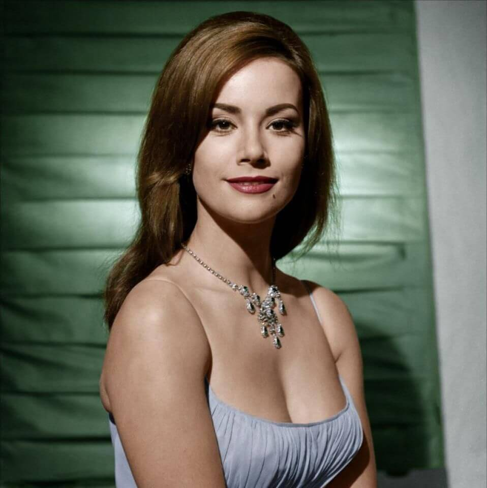 Claudine Auger hot busty pic