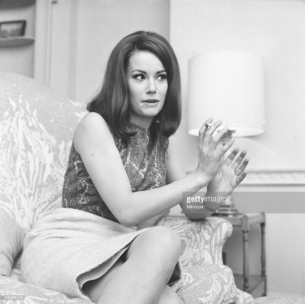 Claudine Auger sexy photo
