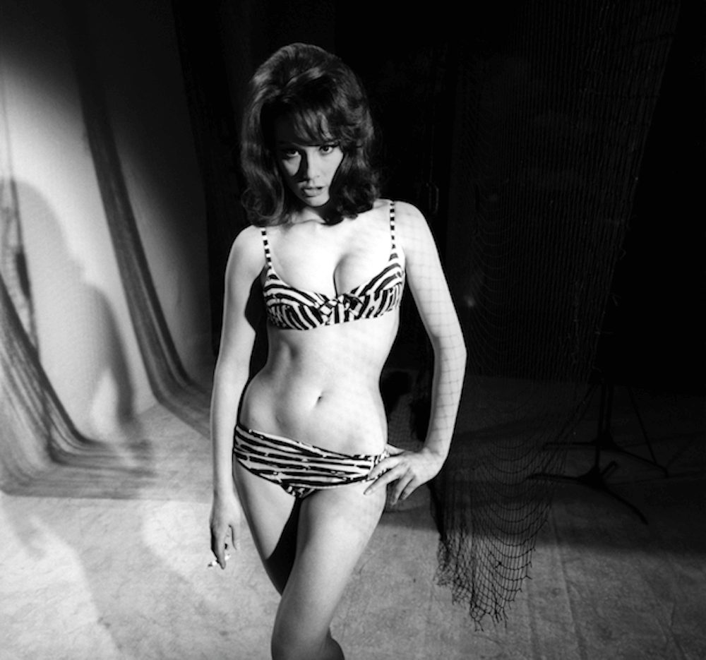 Claudine Auger sexy pictures