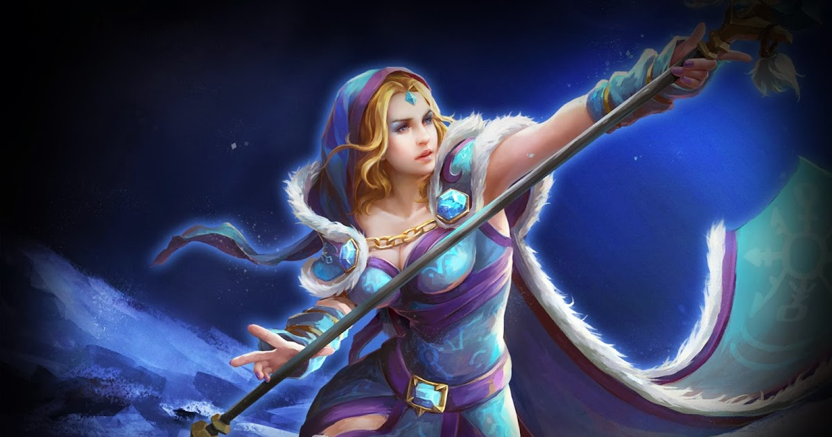 Crystal Maiden Hot Photo