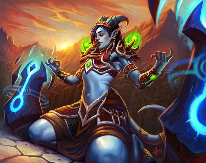 Draenei awesome pictures