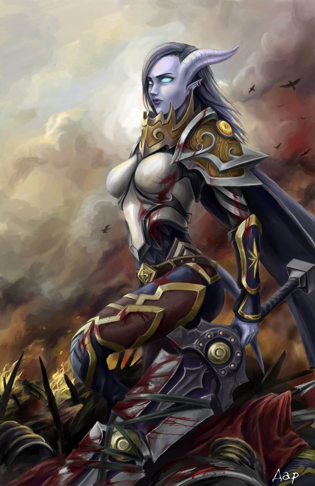 Draenei hot pictures (3)