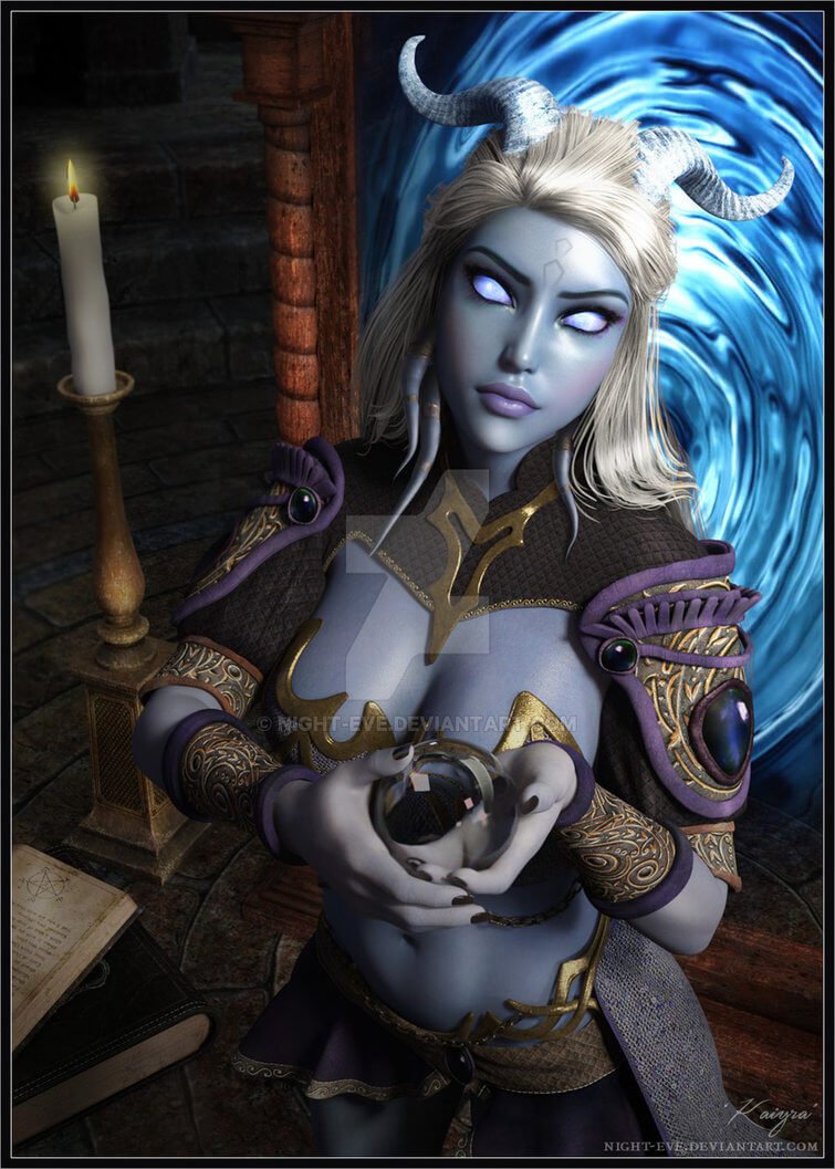 Draenei hot pictures