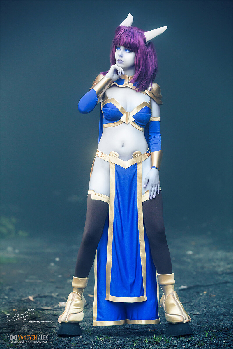 Draenei sexy cleavages pics