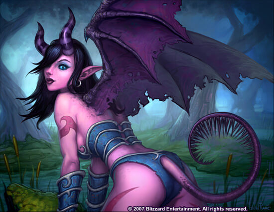 Draenei sexy pictures (2)