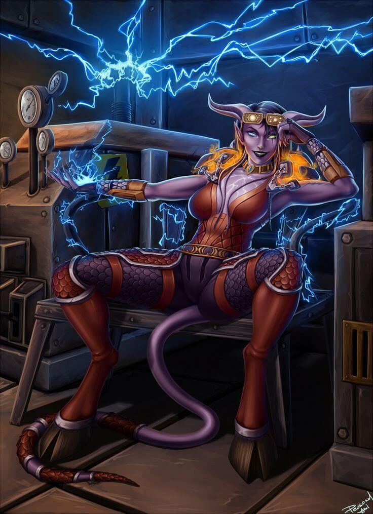 Draenei sexy pictures (3)