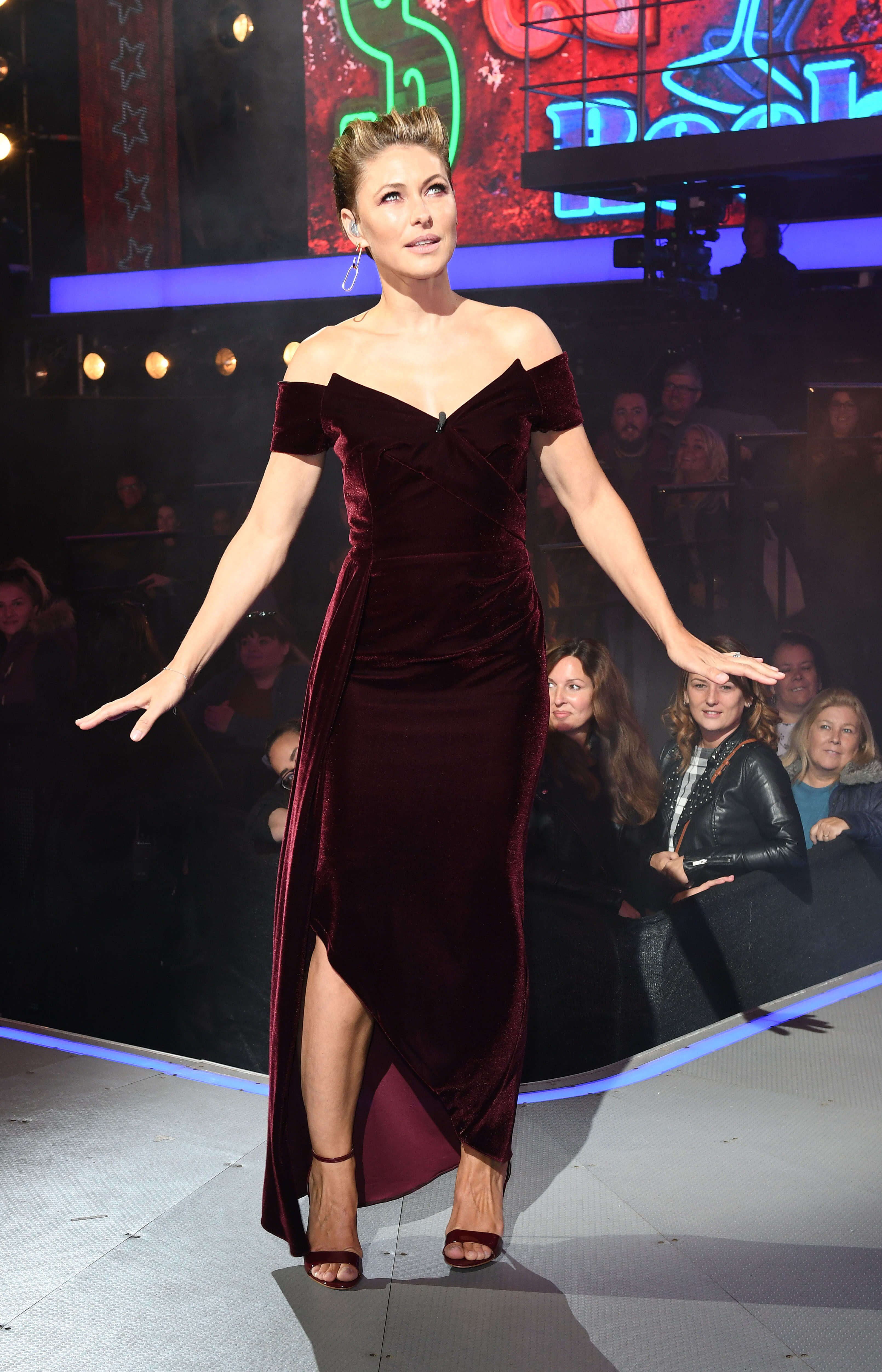 Emma Willis hot cleavages