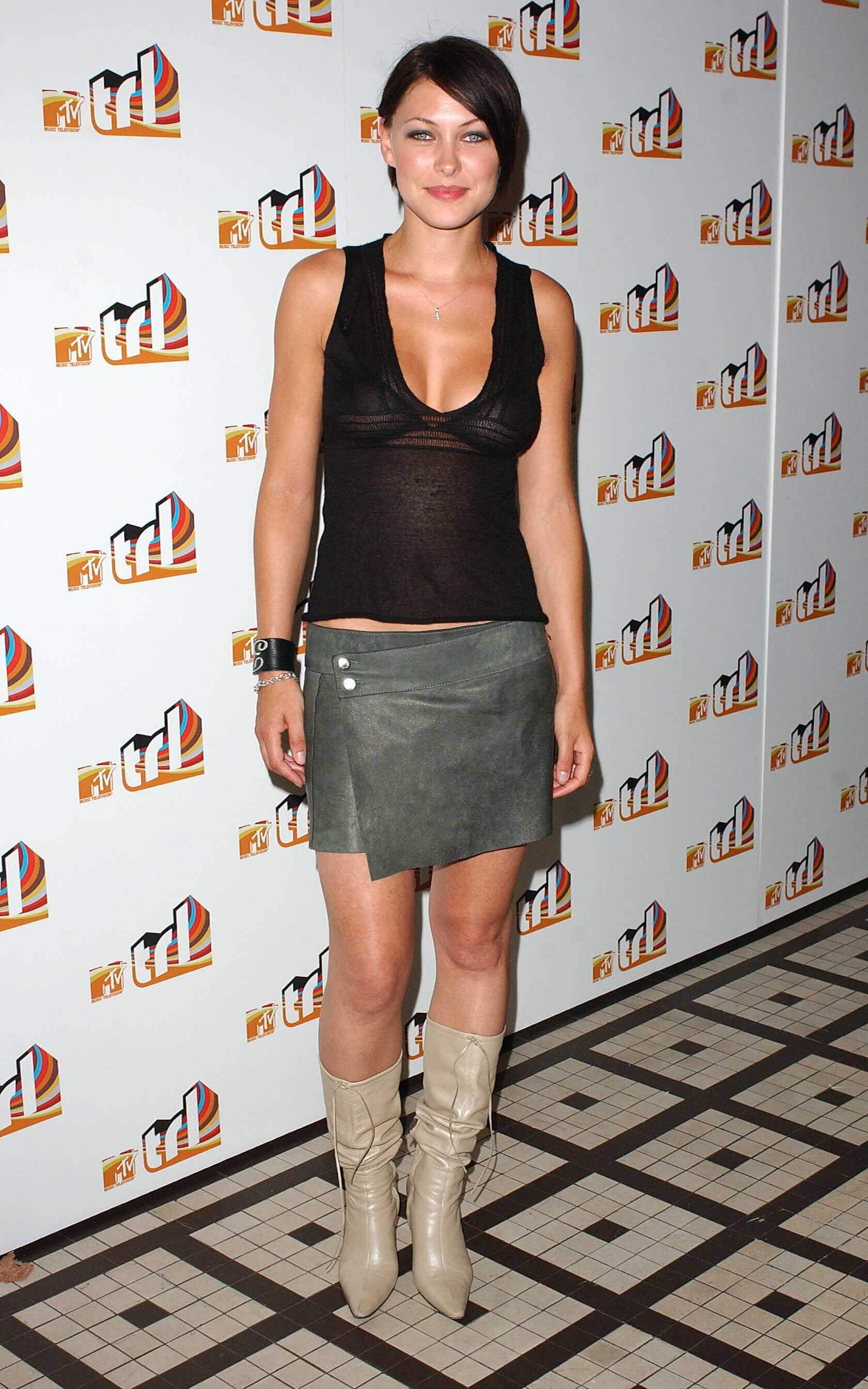 Emma Willis sexy cleavges pic