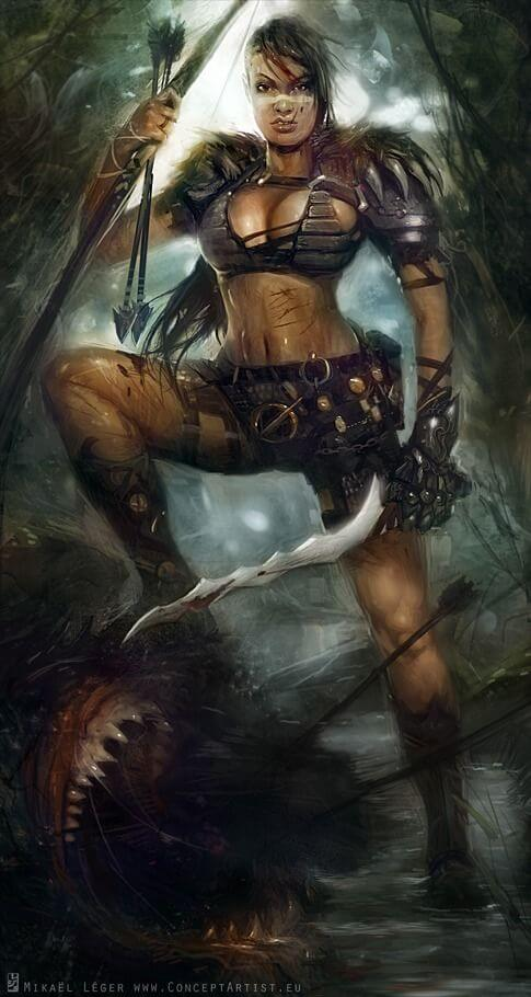 Female barbarian awesome photos