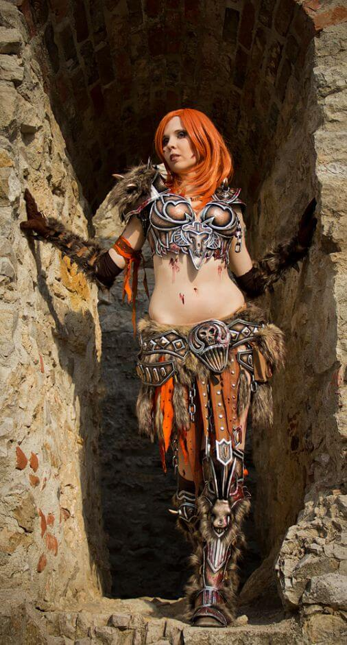 Female barbarian awesome pic