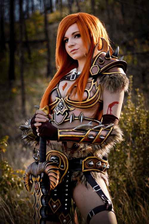 Female barbarian awesome pics