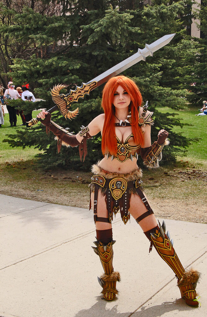 Female barbarian awesome pictures