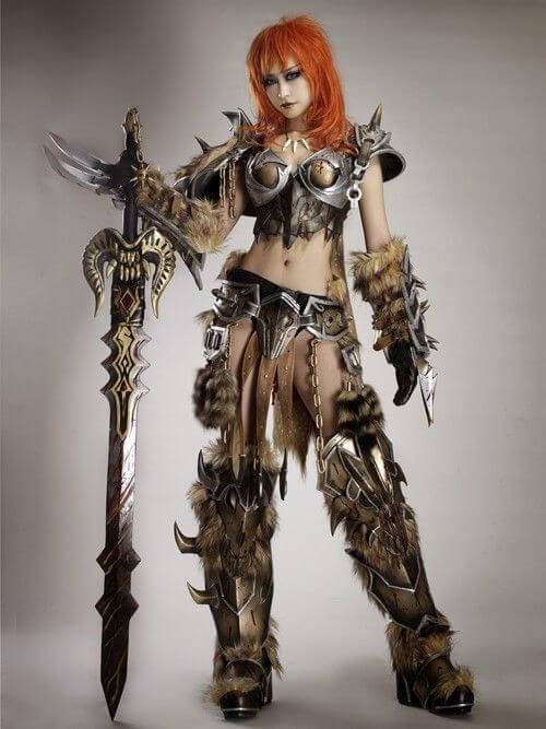 Female barbarian beautiful pictures
