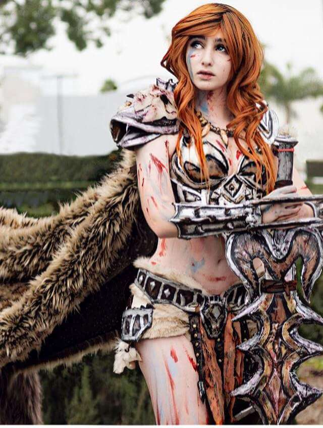 Female barbarian hot picture