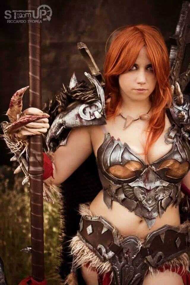 Female barbarian sexy picture