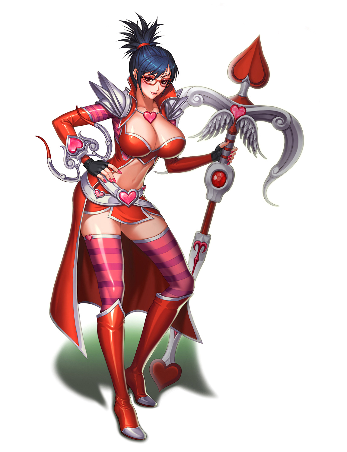 Heartseeker Vayne cleavage photos