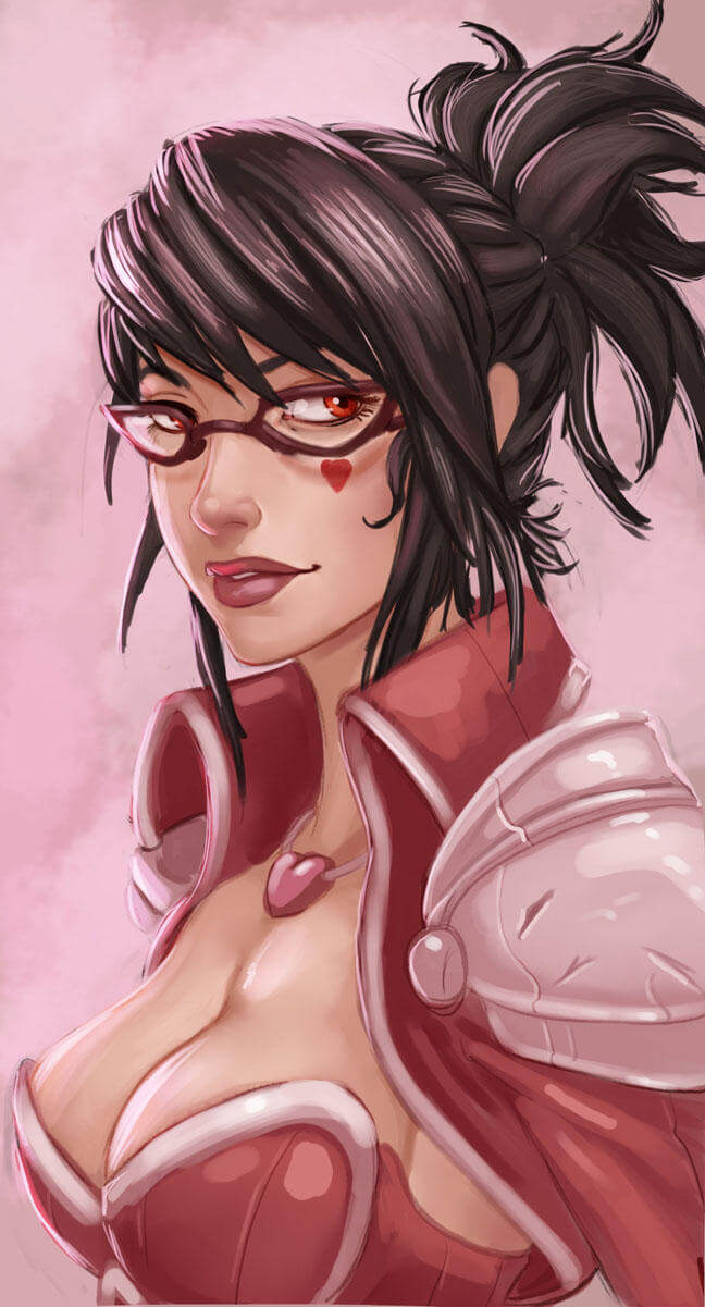 Heartseeker Vayne cleavage pic
