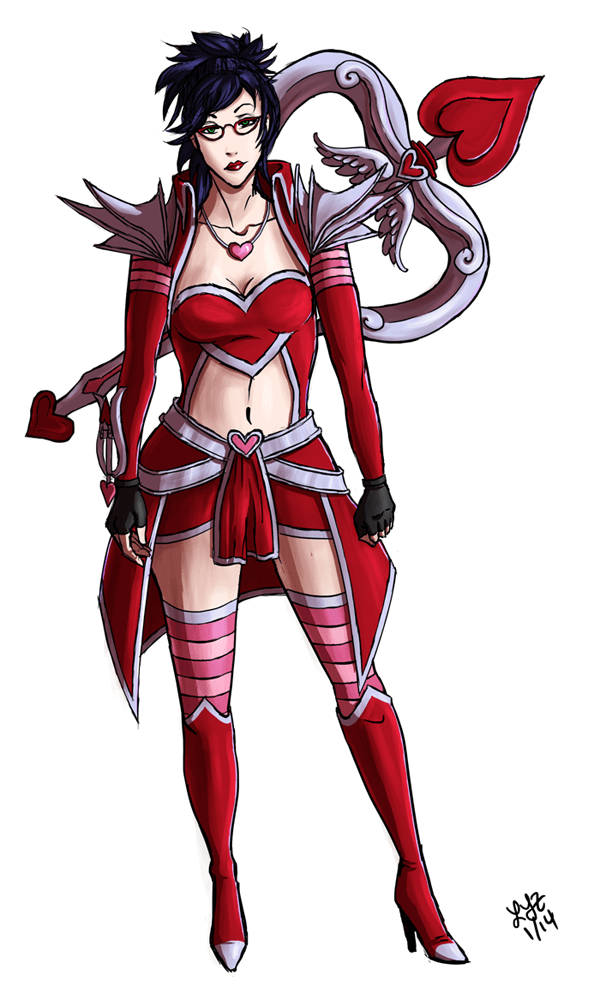 Heartseeker Vayne hot look