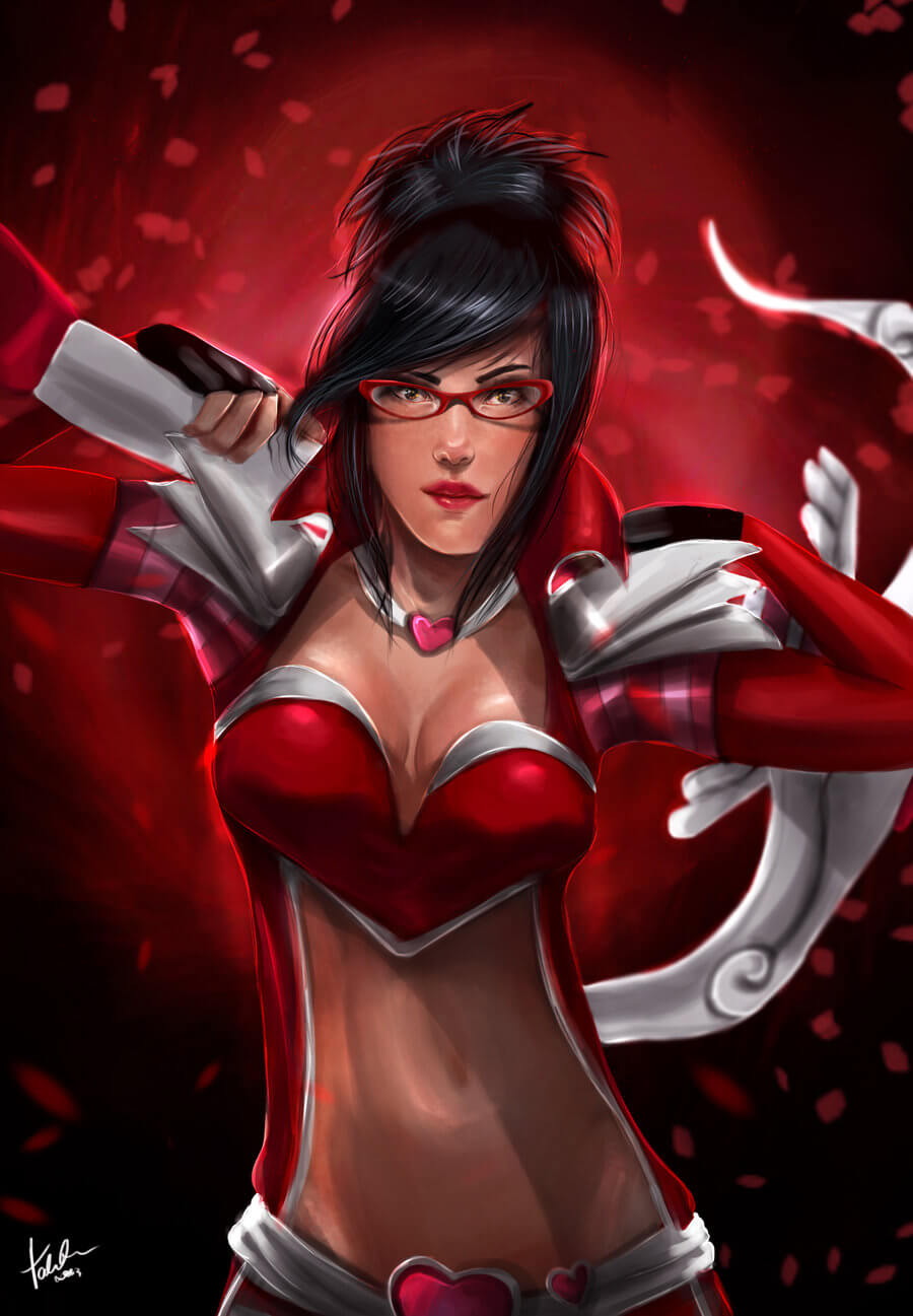 Heartseeker Vayne hot photo (2)