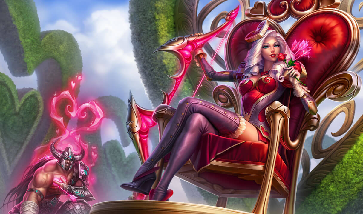 Heartseeker Vayne hot photo