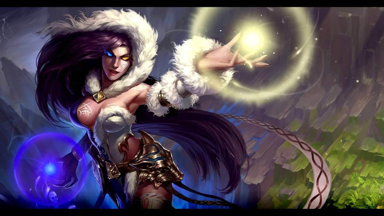 Hel Smite cleavage photo