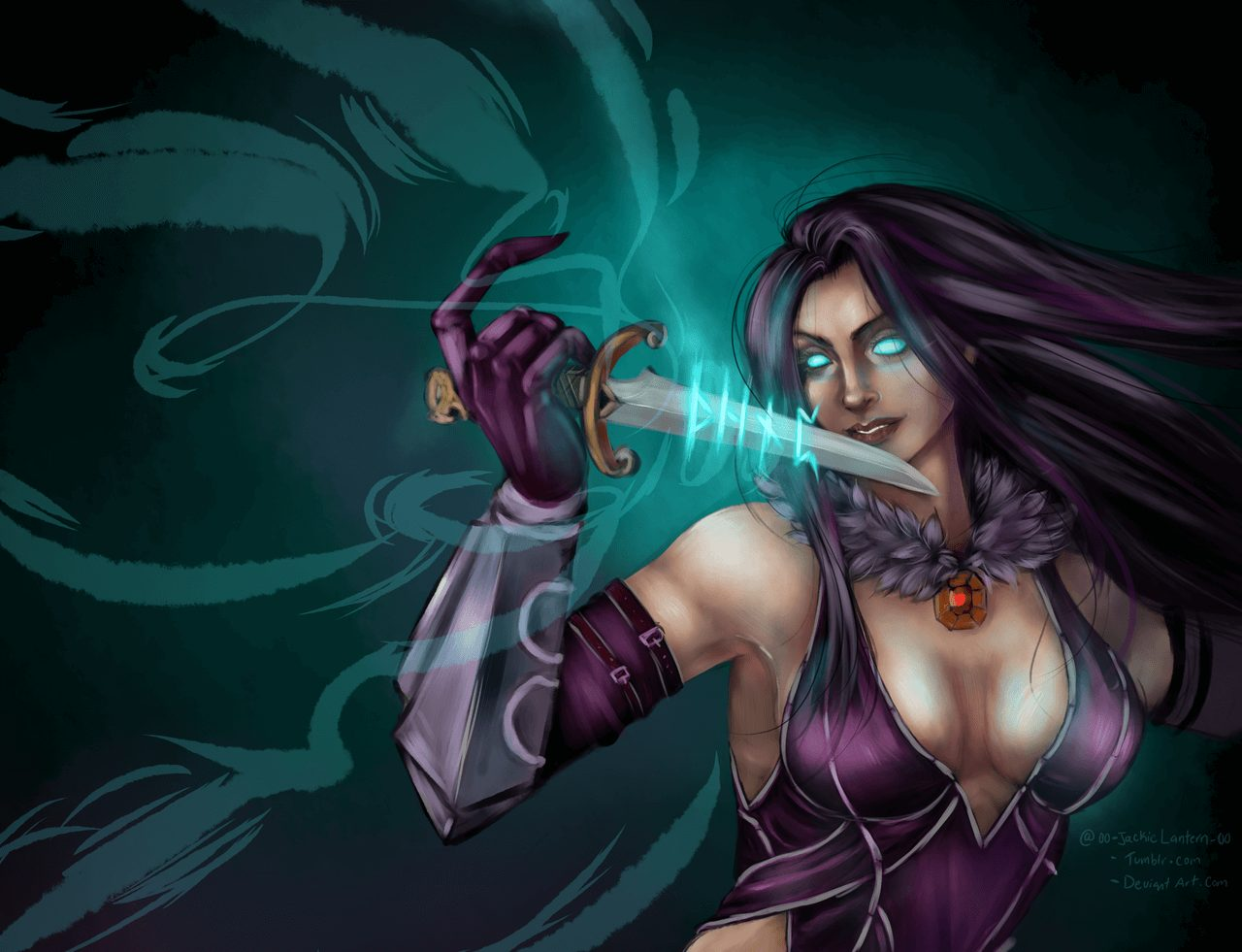 Hel Smite hot cleavage pic