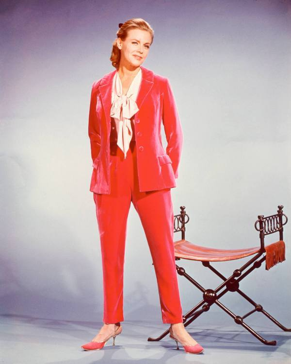 Honor Blackman Hot in Red