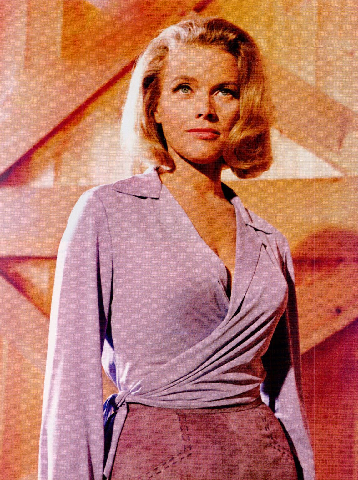 Honor Blackman Hot in Short Hair