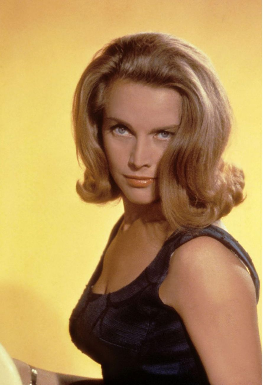 Honor Blackman Short hair