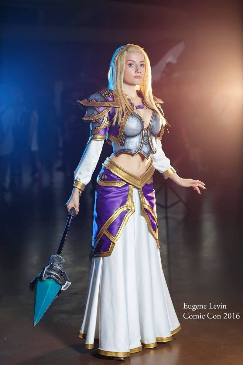 Jaina awesome cleavages