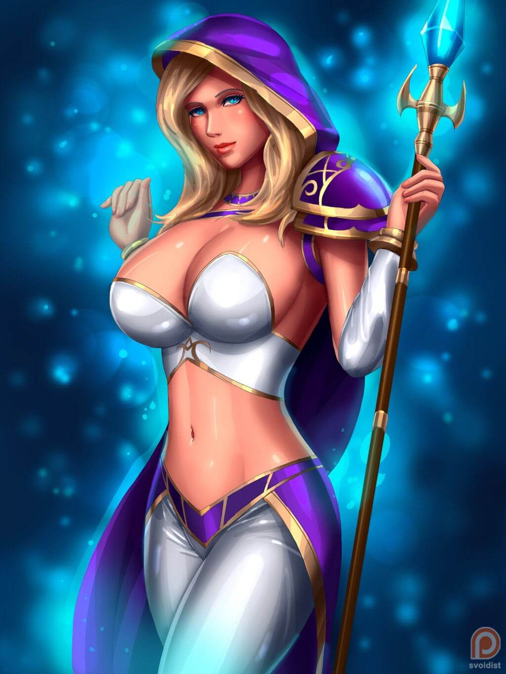 Jaina awesome cleavages pics