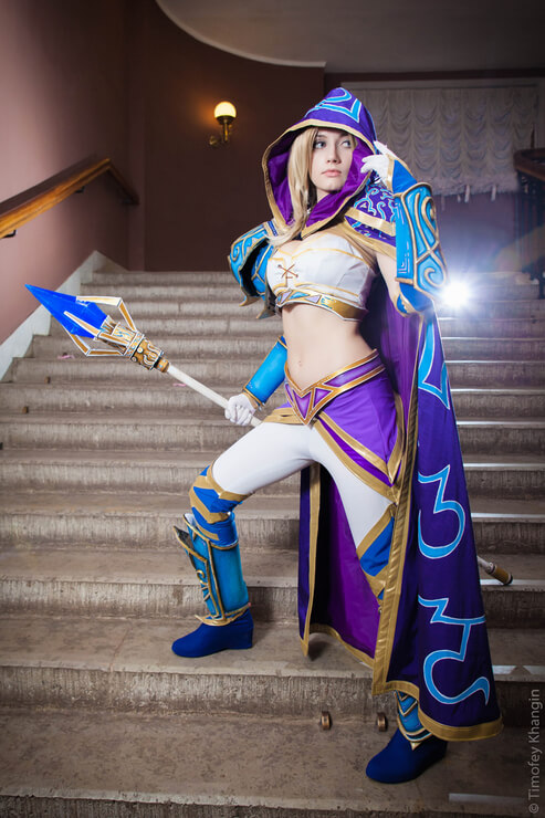 Jaina awesome dress