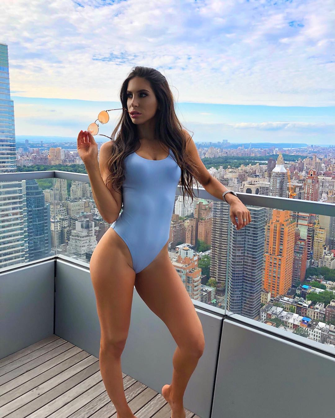 Jen Selter on Swimming Costume