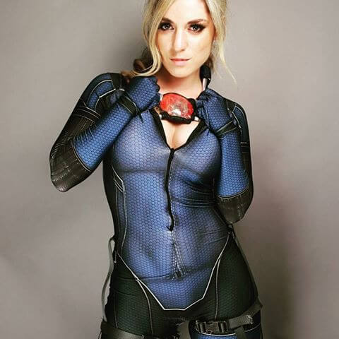 Jill Valentine awesome dress