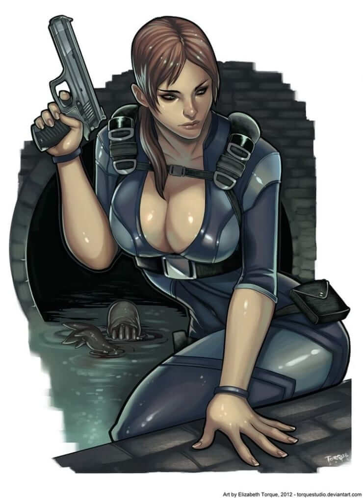 Jill Valentine awesome pic
