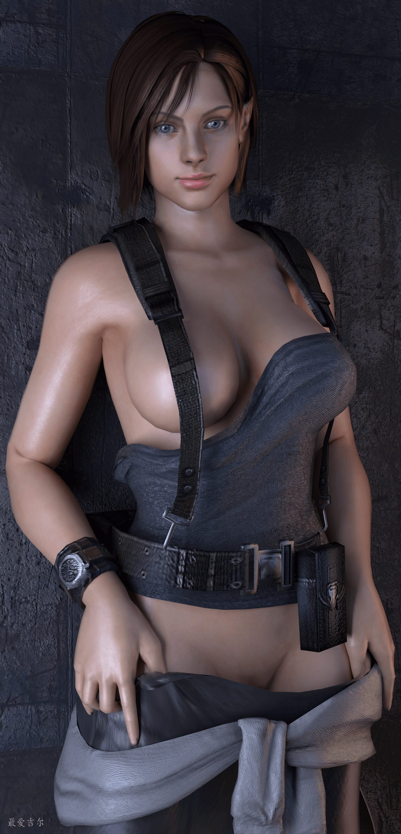 Jill Valentine beautiful dress