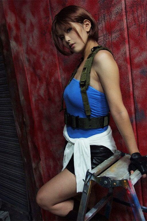 Jill Valentine beautiful